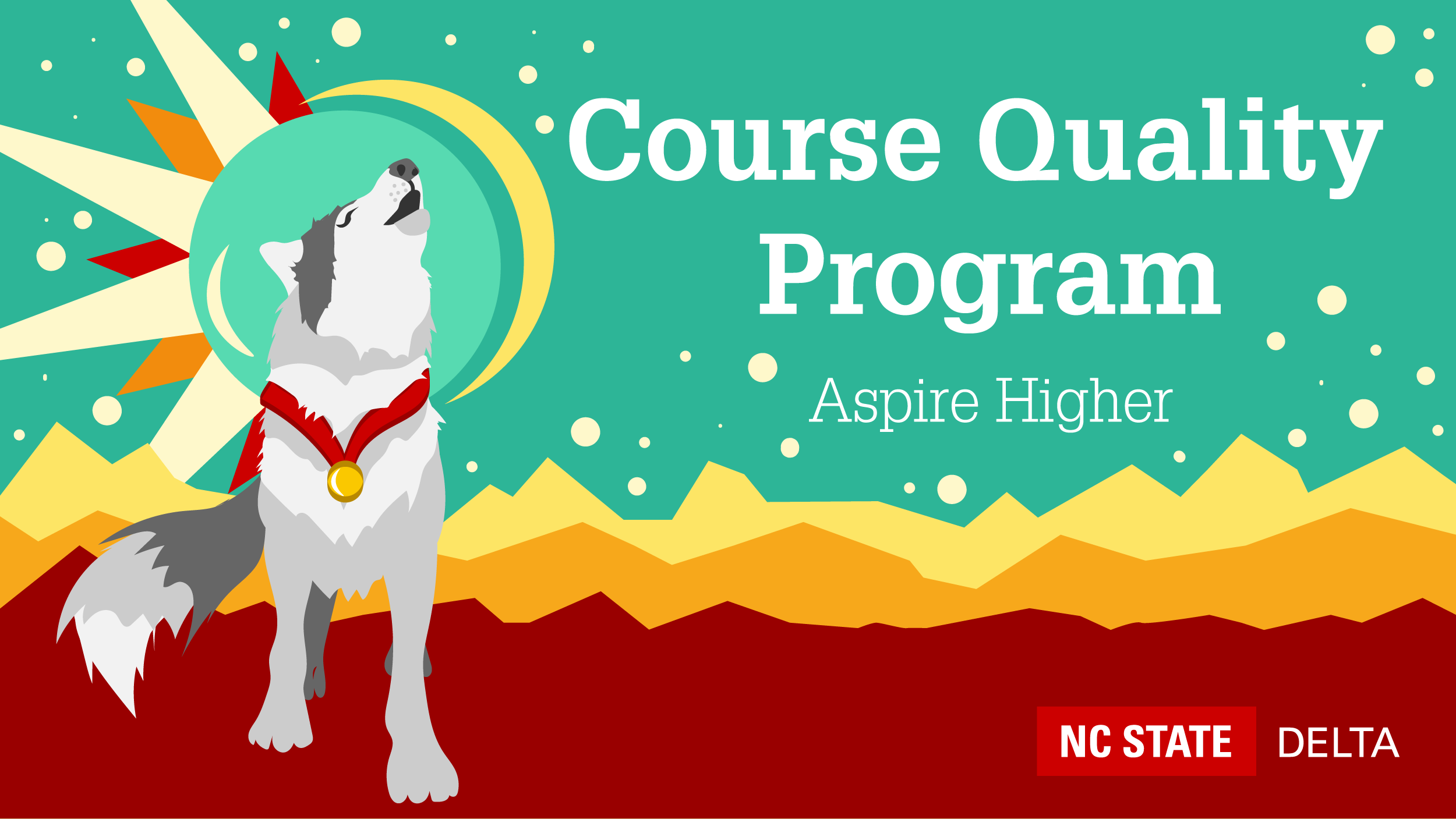 Course Quality Program, Aspire Higher