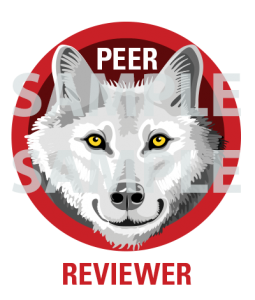 Example peer reviewer digital credential
